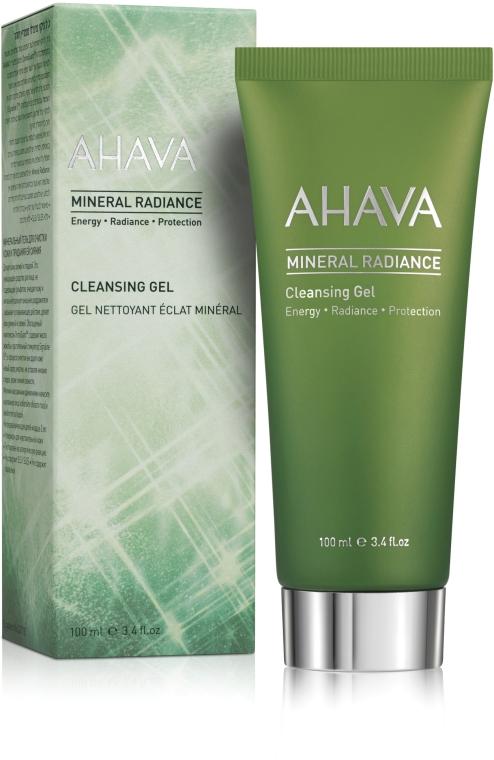 Минеральный очищающий гель для лица - Ahava Mineral Radiance Cleansing Gel