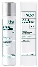 Духи, Парфюмерия, косметика Питательный крем против морщин с витамином С - Dottore C-Flush Cream Rich