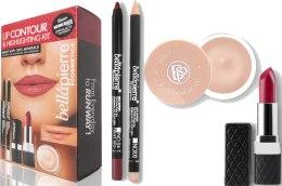 Духи, Парфюмерия, косметика Набор для контурирования губ - Bellapierre Lip Contour and Highlighting Kit Red