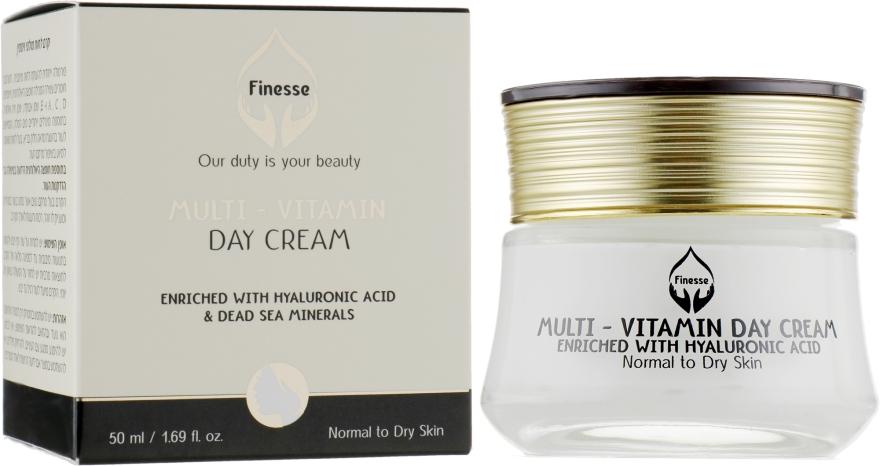 Мультивитаминный увлажняющий дневной крем - Finesse Multivitamin Day Cream