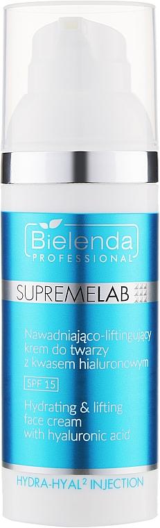 Гиалуроновый крем для лица SPF15 - Bielenda Professional Supremelab Hydra-hyal2