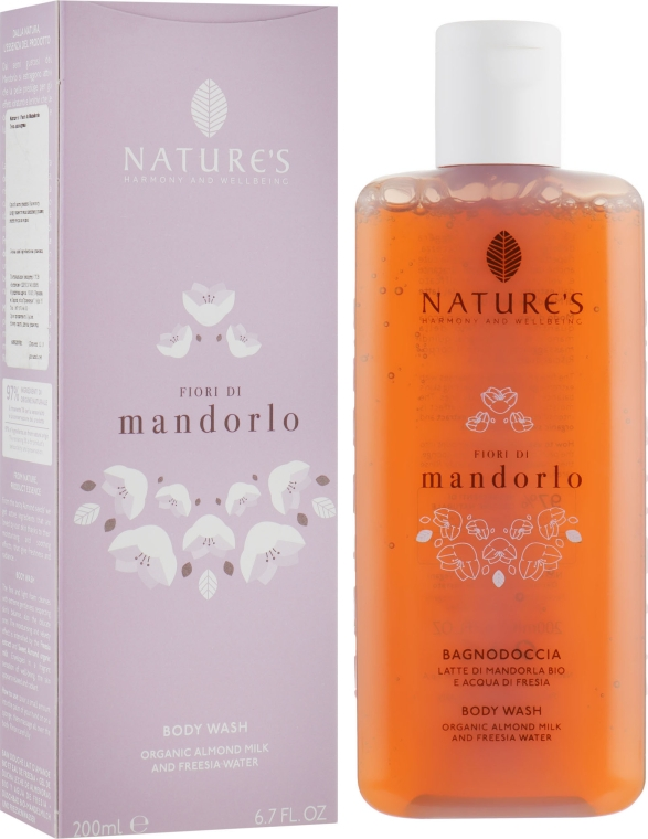 Гель для душа - Nature's Flori Di Mandorlo Body Wash