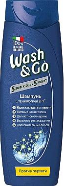 Шампунь против перхоти с технологией ZPT - Wash&Go
