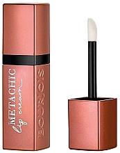 Духи, Парфюмерия, косметика Жидкая помада для губ - Bourjois Metachic Lip Cream