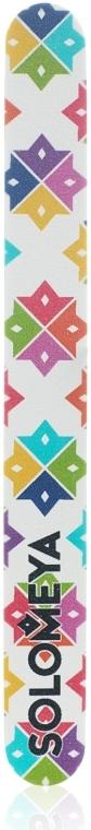 """Пилка для ногтей """"Королева Цветов"""", 180/220 грит - Solomeya Color Queen"""