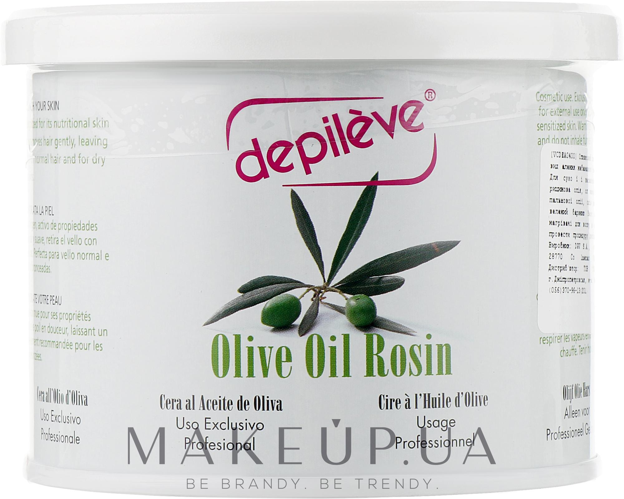 Оливковий віск - Depileve Olive Oil Rosin — фото 400g