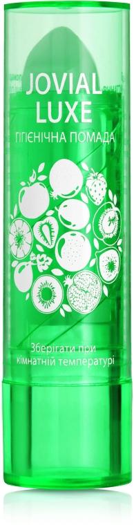 Гигиеническая помада для губ, зеленая - Jovial Luxe Lip Care