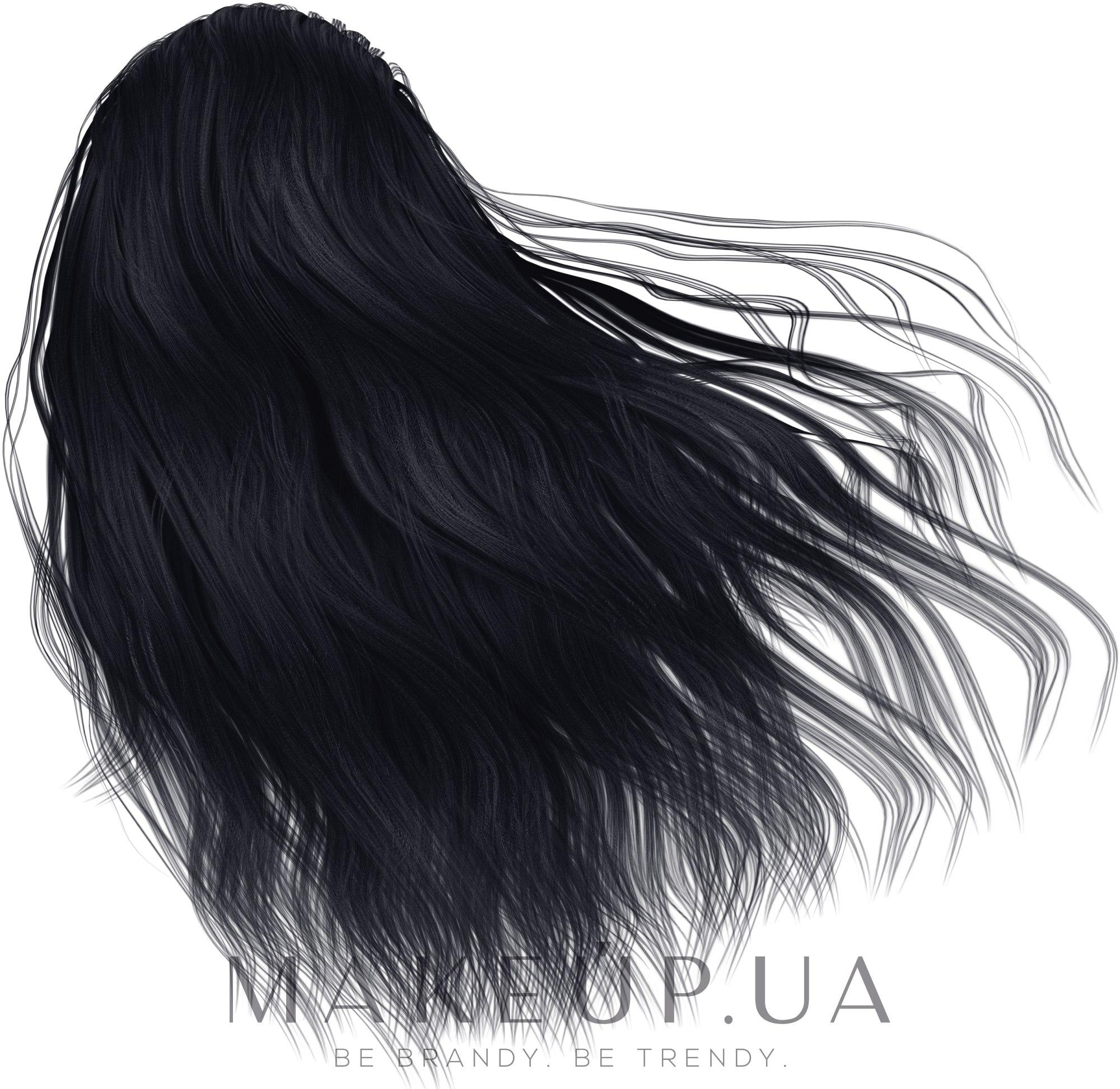 Крем-краска для волос - Dott. Solari Love Me Color — фото 1.10 - Сине-черный