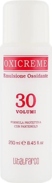 Окисляющая эмульсия с пантенолом 9% - Maxima Oxicreme 30 VOL