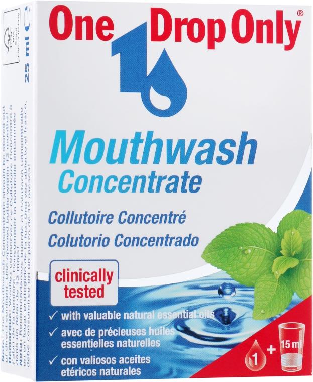 Концентрированный ополаскиватель для полости рта - One Drop Only Mouthwash Concentrate