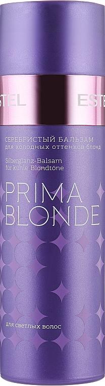 Серебристый бальзам для холодных оттенков блонд - Estel Professional Prima Blonde