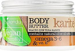 "Духи, Парфюмерия, косметика Масло для тела ""Карите"" - Bielenda Vegan Friendly Body Butter Karite"