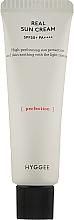 Духи, Парфюмерия, косметика Солнцезащитный крем - Hyggee Real Sun Cream SPF50+ PA ++++