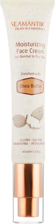 Увлажняющий крем для лица с маслом ши - Seamantika Moisturizing Face Cream Shea Butter — фото N2