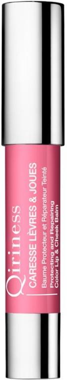 Защитный и восстанавливающий бальзам для губ - Qiriness Levres&Joues Protecting and Repairing Color