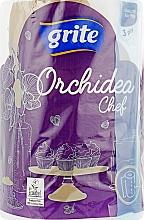 "Духи, Парфюмерия, косметика Полотенца бумажные ""Orchidea Gold Chef"", 3 слоя, 230 листов, 1 рулон - Grite"