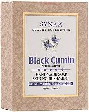 """Духи, Парфюмерия, косметика Витаминизированное мыло ручной работы с растительными экстрактами """"Черный тмин"""" - Synaa Luxury Collection Black Cumin Handmade Soap"""