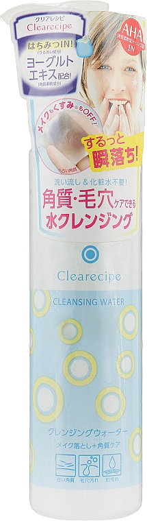 Очищающая вода для лица - Isehan Clearecipe Cleansig Water