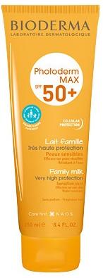 Солнцезащитное семейное молочко - Bioderma Photoderm MAX Lait Famille SPF 50+