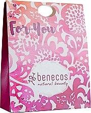 "Духи, Парфюмерия, косметика Набор ""Абрикос и цветы бузины"" - Benecos Natural Beauty For You (sh/gel/200ml + b/lotion/150ml + hand/cr/75ml)"