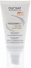 Духи, Парфюмерия, косметика Легкий крем против пигментации для нормальной и комбинированной кожи - Ducray Melascreen UV Light Cream SPF 50+