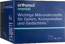 Духи, Парфюмерия, косметика Витамины гранулы + капсулы (30 дней) - Orthomol Mental