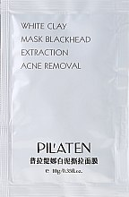 Духи, Парфюмерия, косметика Глиняная маска для лица - Pil'aten White Clay Mask Blackhead Extraction Acne Removal