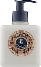 Духи, Парфюмерия, косметика Мусс для рук и тела очищающий ультра-питательный - L'occitane Shea Butter Ultra Rich Hand & Body Wash