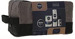 Набор - Nivea Men Sensitive Elegance (foam/200ml + af/sh/balm/100ml + deo/50ml + cr/75ml + bag) — фото N1