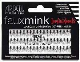 Духи, Парфюмерия, косметика Накладные ресницы - Ardell Faux Mink Individuals Knot Free Medium Black