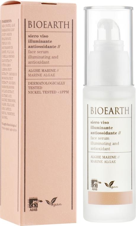 Антиоксидантная осветляющая сыворотка для лица - Bioearth Brightening & Antioxidant Serum