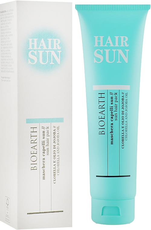 Питательная маска для волос - Bioearth Sun Hair Maschera Capelli