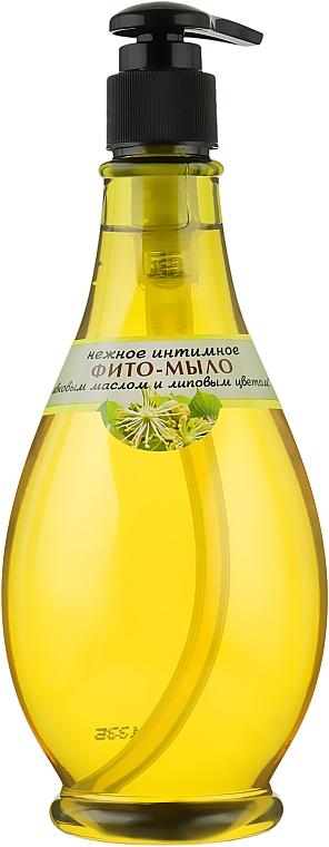 Нежное интимное фито-мыло с оливковым маслом и липовым цветом - Viva Oliva