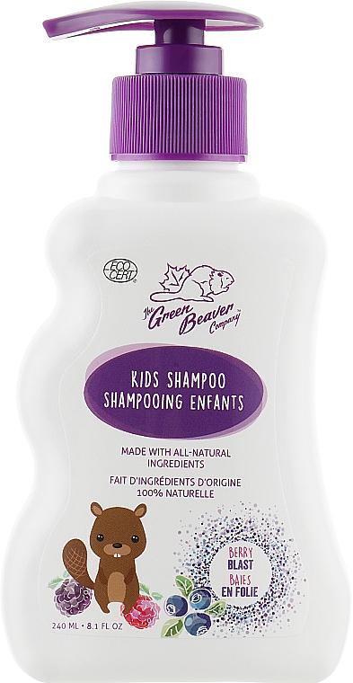 Детский нежный шампунь ягодный - Green Beaver Kids Gentle Shampoo