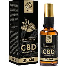 Духи, Парфюмерия, косметика Натуральное масло жожоба CBD 250mg - Dr. T&J Bio Oil