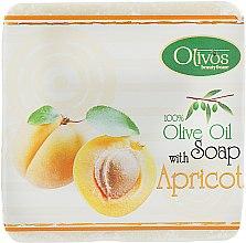 "Духи, Парфюмерия, косметика Натуральное оливковое мыло ""Абрикос"" - Olivos Herbs & Fruits Apricot Soap"