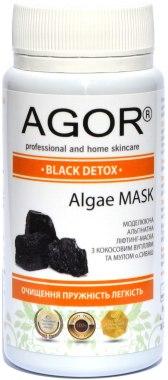 "Альгинатная маска ""Black Detox"" - Agor Algae Mask"