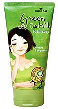 Духи, Парфюмерия, косметика Молочная пенка для умывания с экстрактом зеленого чая - Mukunghwa Rossom