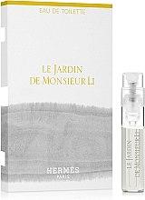 Духи, Парфюмерия, косметика Hermes Le Jardin de Monsieur Li - Туалетная вода (пробник)