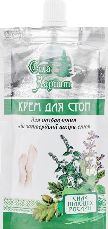 """Крем для стоп """"Сила Карпат"""" - LekoPro (дой-пак)"""
