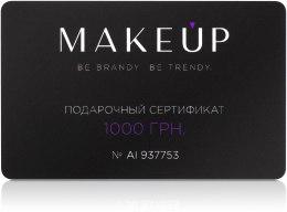Подарочный сертификат - 1000 грн — фото N2