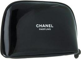 Духи, Парфюмерия, косметика Косметичка на молнии, черная лаковая - Chanel Parfums