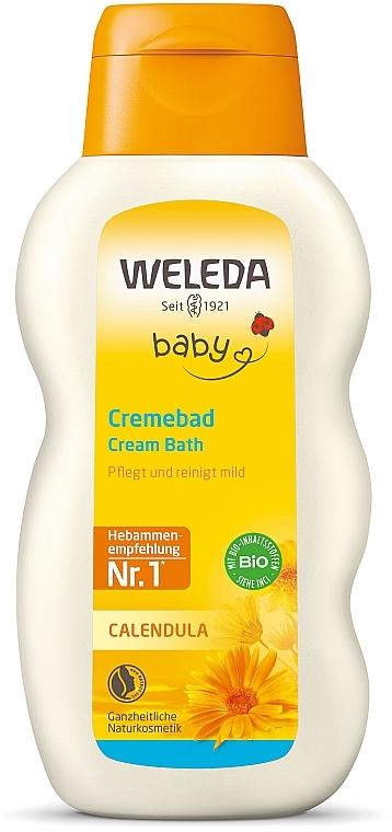 Молочко для купания младенцев - Weleda Calendula Baby Cream Bath