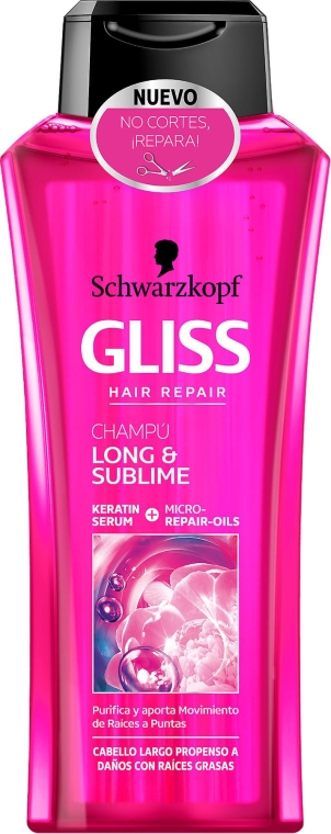 Шампунь - Gliss Kur Long & Sublime Shampoo