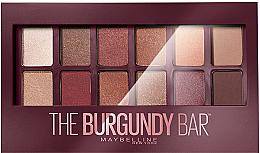 Духи, Парфюмерия, косметика УЦЕНКА Палетка теней для век - Maybelline New York The Burgundy Bar Palette *