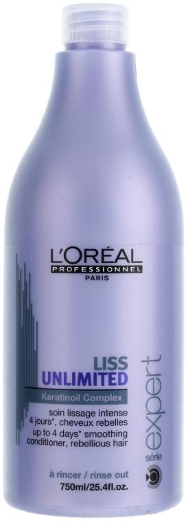 Разглаживающий кондиционер для сухих и непослушных волос - L'Oreal Professionnel Liss Unlimited Conditioner