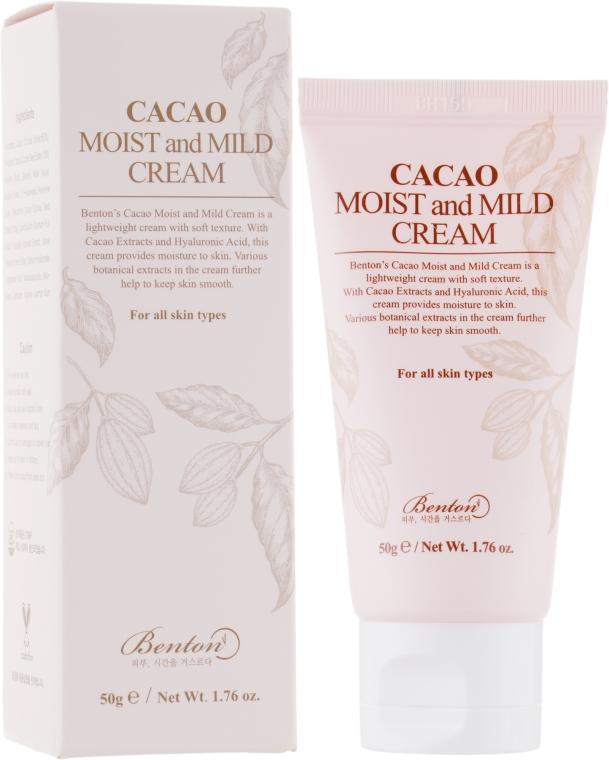 Крем для лица - Benton Cacao Moist and Mild Cream