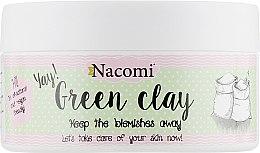 "Духи, Парфюмерия, косметика Глиняная маска для лица ""Зеленая глина"" - Nacomi Green Clay"