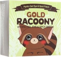 Гидрогелевые патчи для кожи вокруг глаз с золотом - Secret Key Gold Racoony Hydrogel Eye Spot Patch — фото N3