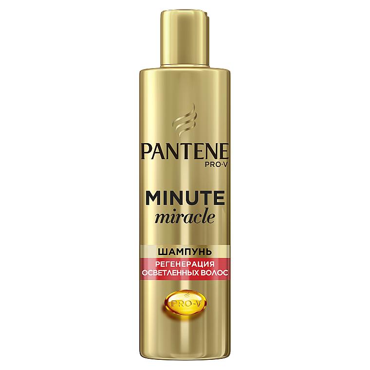 """Шампунь для волос """"Регенерация осветленных волос"""" - Pantene Pro-V Minute Miracle Shampoo"""